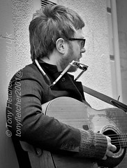 'Whitby Busker's and Street' 17th March 2013
