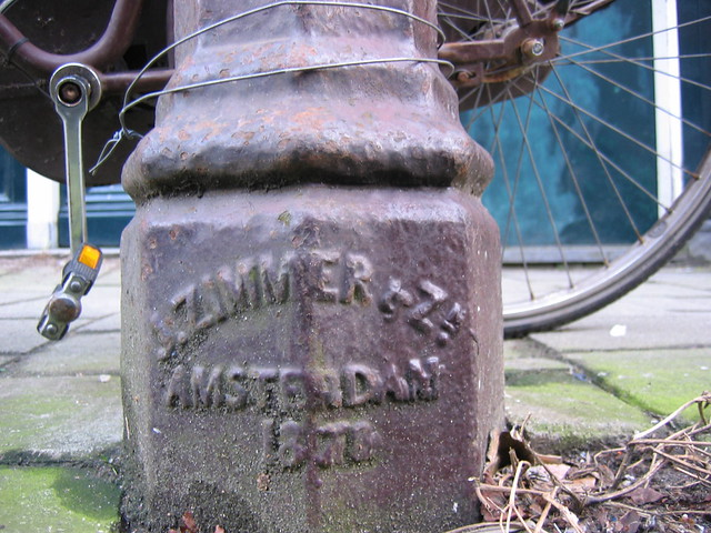 J. Zimmer & Zn. ijzergieterij - Amsterdam