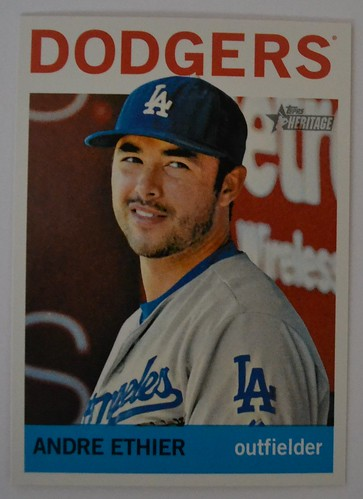 Andre Ethier Topps Heritage 2013