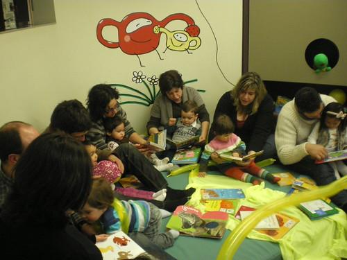 Bebencontro na Bebeteca da Biblioteca Forum Metropolitano