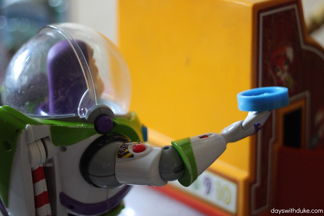 Buzz goes shopping