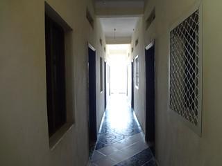Corredor do Hotel Yaxiye em Berbera