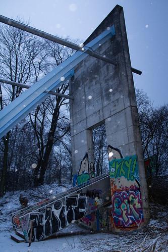 Brückenaufgang Herkulesberg