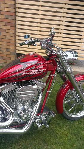 Custom Harley Davidson Motorcycle