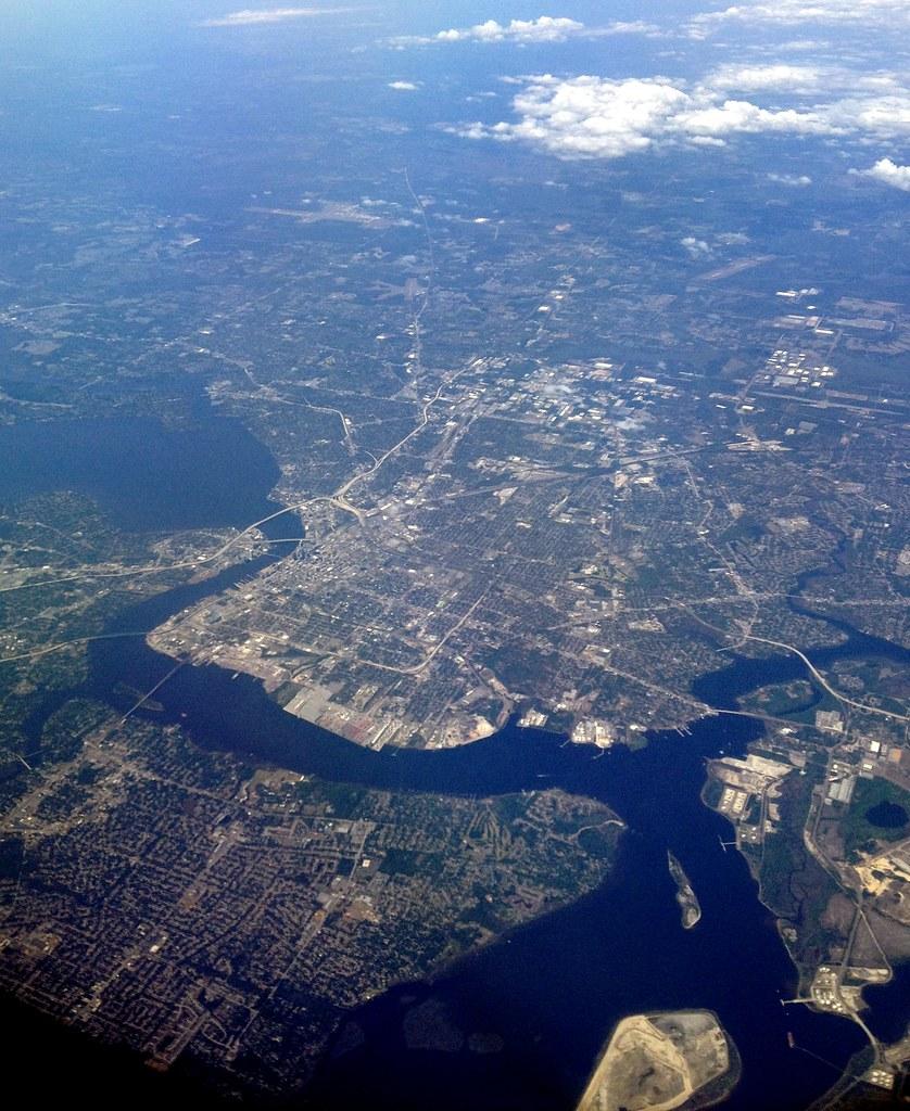 Elevation Of Jacksonville, FL, USA