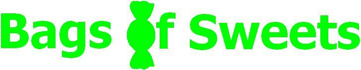 bags of sweets logo grønn
