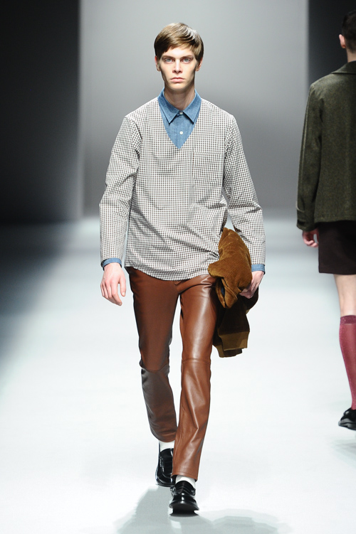 FW13 Tokyo MR.GENTLEMAN006_Mark(Fashion Press)