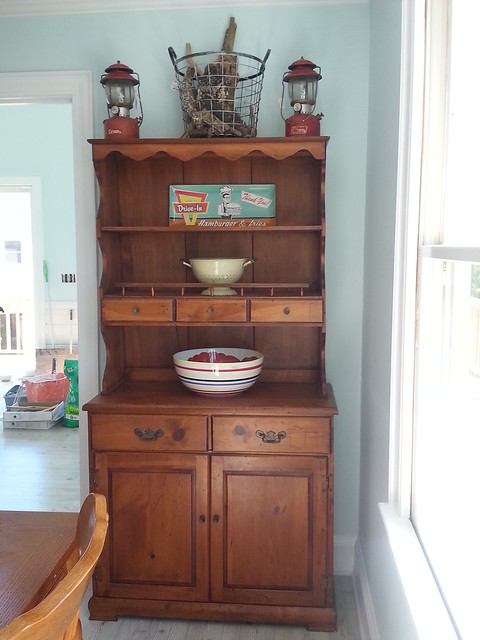 Beach House Decor- Hutch