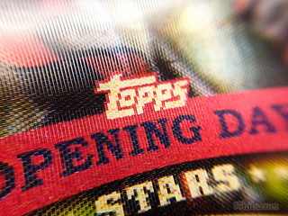 Buster Posey 3D 2013 Topps Opening Day #ODS-4 baseball card