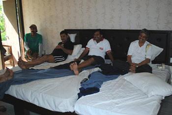 Biswajit, Joy, Ashish & Apurba