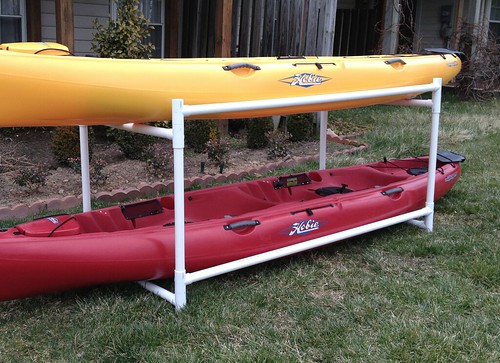 Thread: PVC Storage Rack For Kayak