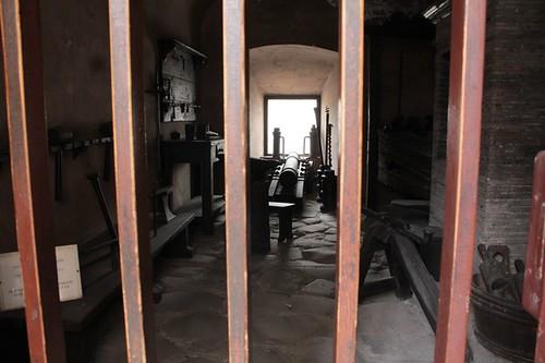 Castel Sant'Angelo: la stanza delle armi