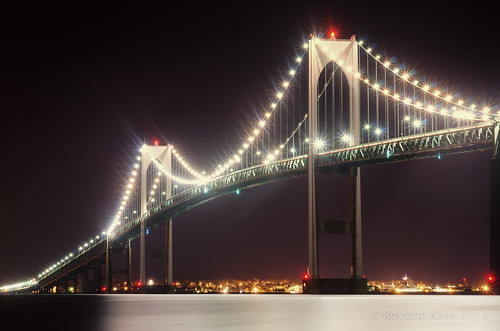 Newport Bridge-5 by Royston_Kane via I {heart} Rhody