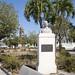 Busto al general Antonio Maceo Grajales en el Parque Central de Palmira. Provincia de Cienfuegos, Cuba - 2013