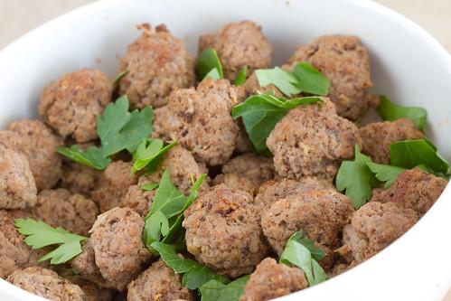 Chorizo lihapallid / Chorizo meatballs