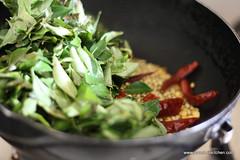 Curry leaves thokku