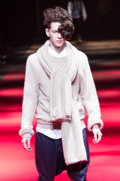 Maxime Bergougnoux3103_FW13 GANRYU(Fashion Press)