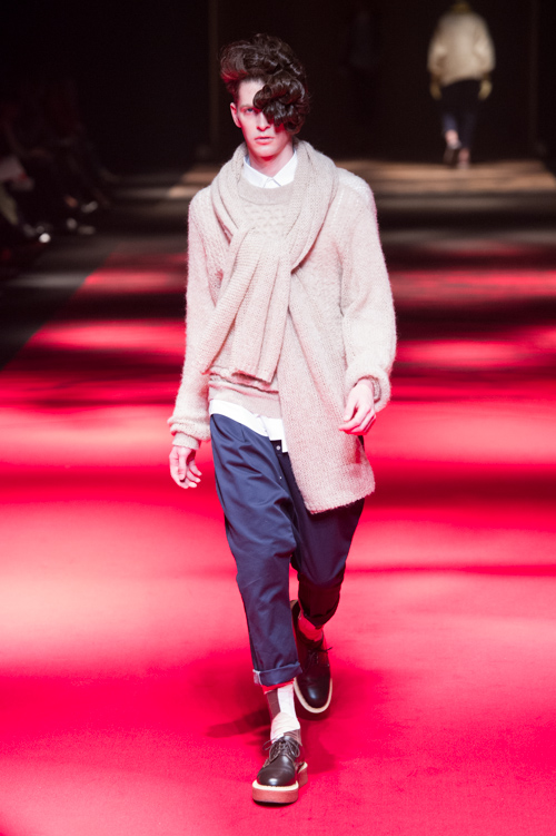 Maxime Bergougnoux3102_FW13 GANRYU(Fashion Press)