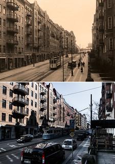 Gothenburg, Vasastan 1935 / 2013