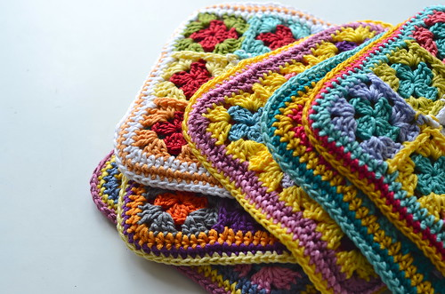 stack of potholders 2013