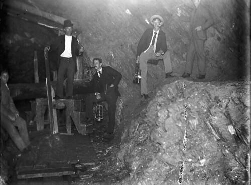Inside of Gold Mine