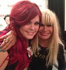 Lucky FABB 2013 - Krista with Betsey Johnson