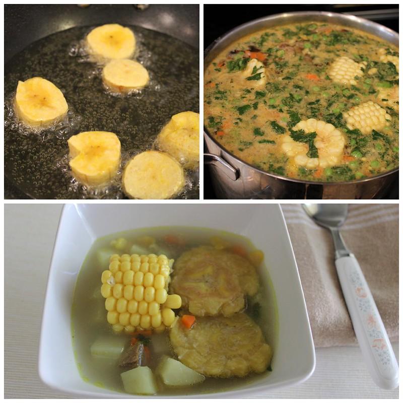 Como preparar sopa de patacon