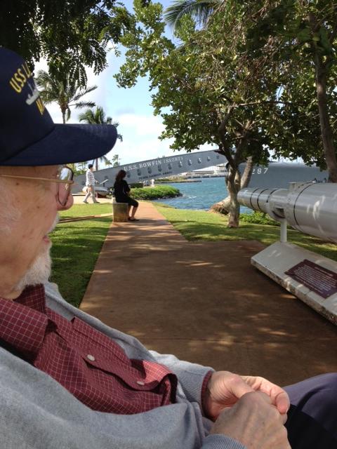 dad at pearl harbor