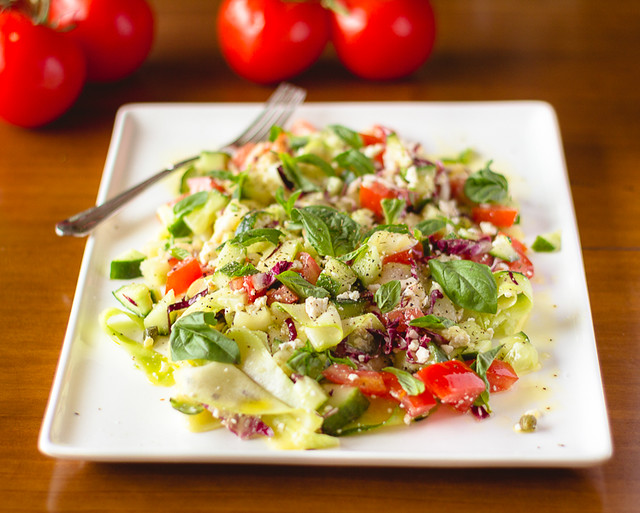 Zucchini Salad with Ricotta Salata