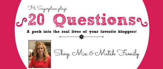 20 Questions - Shay