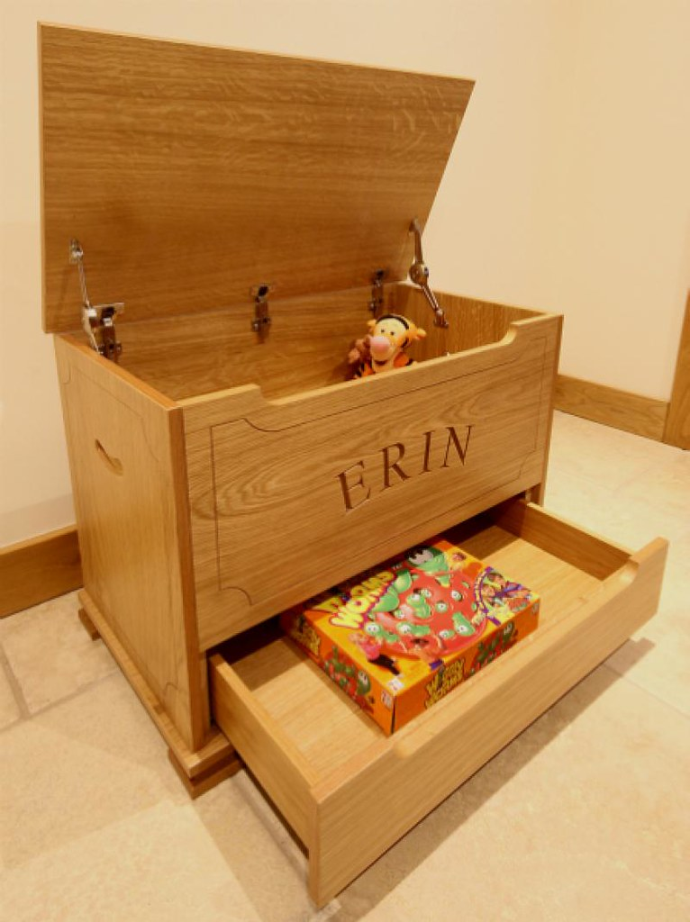 Children S Toy Box Timbertone Design Ltd