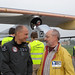 Bertrand Piccard and Alfons Hubmann