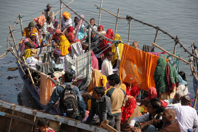 Arriving and Leaving Varanasi