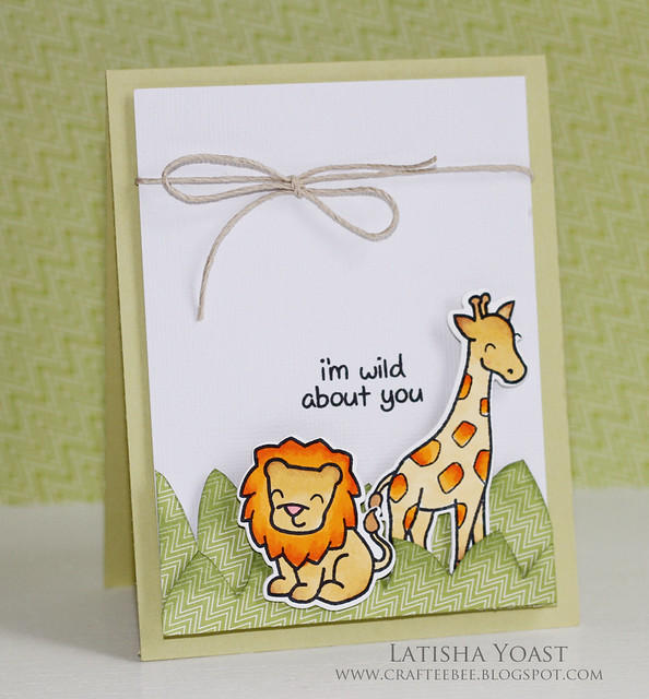 LawnFawn safari latishay