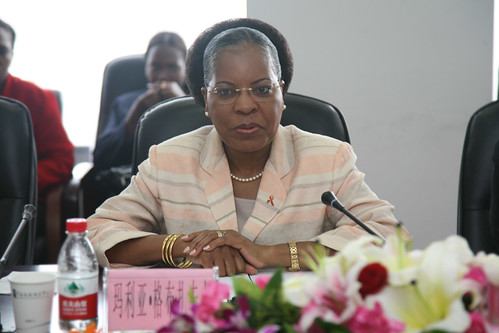 Republic of Mozambique First Lady Dr. Maria da Luz Dai Guebuza. She recently addressed the necessity of enhancing relations with the Republic of Zimbabwe. by Pan-African News Wire File Photos