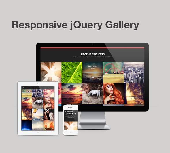 Pixel Crafted - HTML Onepage Responsive Template
