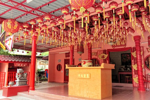 Chinese temple in Batu Ferringhi