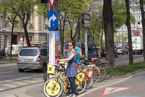 Biking like champions on Vienna's amazing bike paths