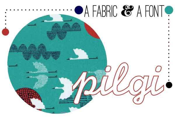 Pilgi +Cloud 9 Rashida Coleman-Hale Turu 100 Cranes Cerulean