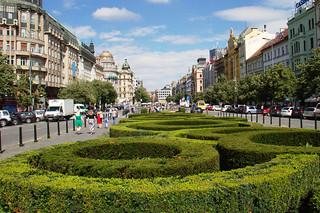 Изображение Вацлавская площадь вблизи Staré Město. ronmacphotos prague wenceslassquare