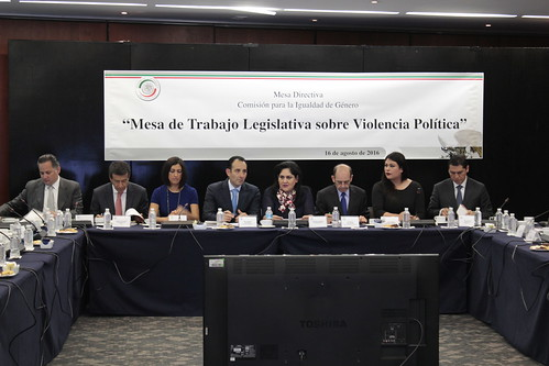 El día de hoy la Comisión para la Igualdad de Género, realizo la Mesa de trabajo legislativa sobre violencia política.