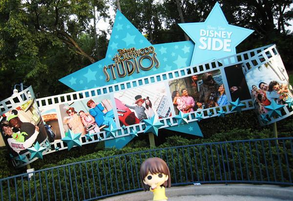寧々さんinフロリダ ディズニー・ハリウッド・スタジオ その1