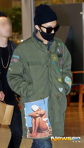 GD arriving Seoul from Fuzhou Press Pics 2015-03-29 009
