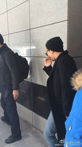 Big Bang - Harbin Airport - 22mar2015 - Seung Ri - LIANHUAN_ - 01