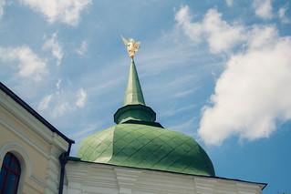 Attēls no Saint Sophia Cathedral pie Kiev. building verde green church europa europe cathedral religion catedral iglesia ukraine dome kiev cupula kyiv ua ucrania saintsophiacathedral соборсвятоїсофії catedraldesantasofía