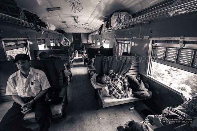 Mandalay to Hsipaw train