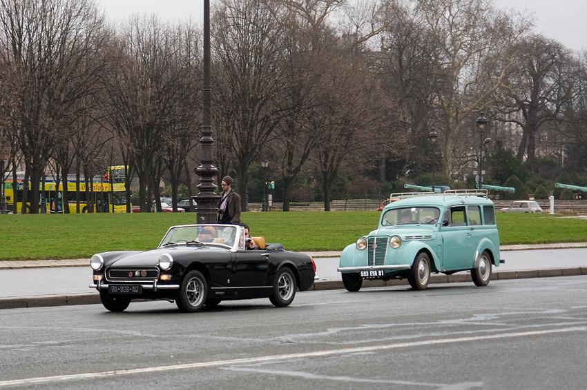 1969–74 MG Midget (MkIII) & 1956–60 Renault Dauphinoise