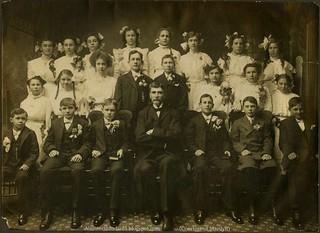 Confirmation class, Trinity, ca 1910.