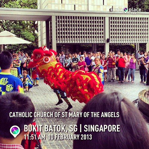 #instaplace #instaplaceapp #instagood #photooftheday #instamood #picoftheday #instadaily #photo #instacool #instapic #picture #pic @instaplaceapp #place #earth #world  #singapore #bukitbatok #catholicchurchofstmaryoftheangels #church #street #day