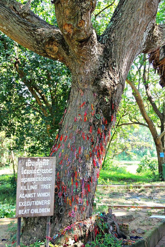 The Killing Tree. The Killing Fields of Choeung Ek. Phnom Penh, Cambodia
